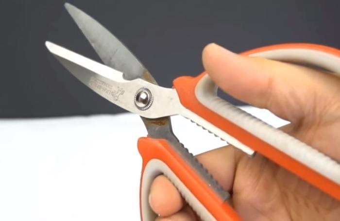 Как заточить ножницы.