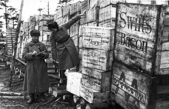 Ленд-лиз в СССР.