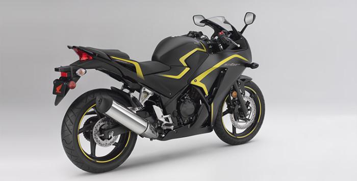 Спортивный мотоцикл.