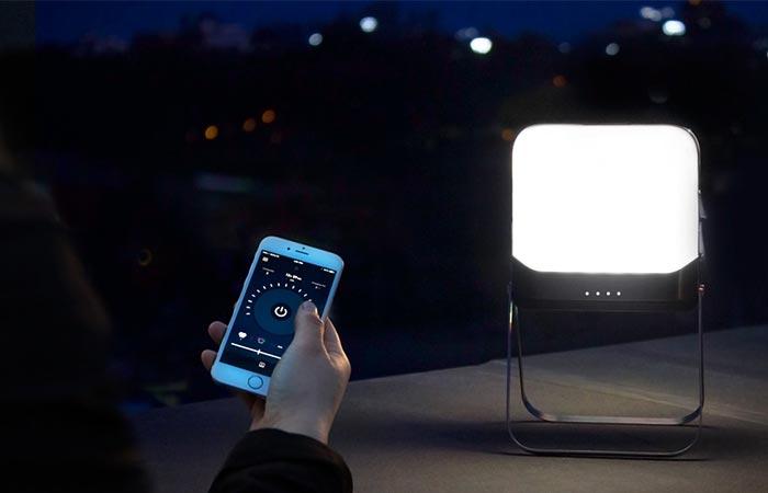 Новая лампа для походов и не только.