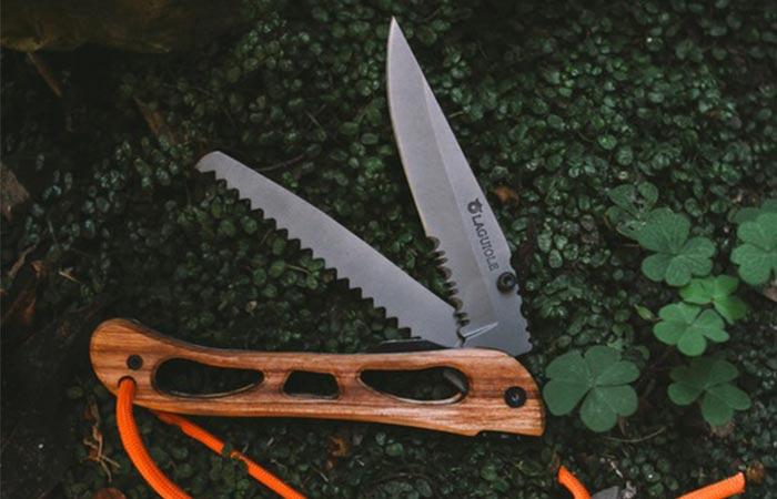 Удобный и надежный нож.