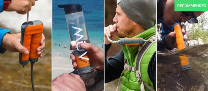 Водный фильтр для дальних походов.