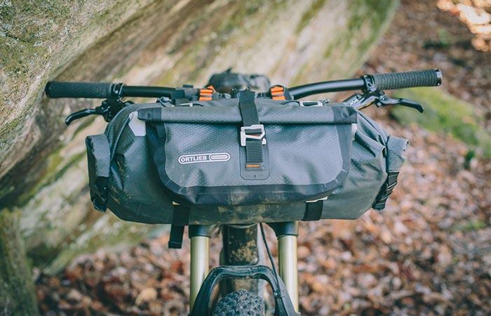 Новая сумка для велосипедистов.