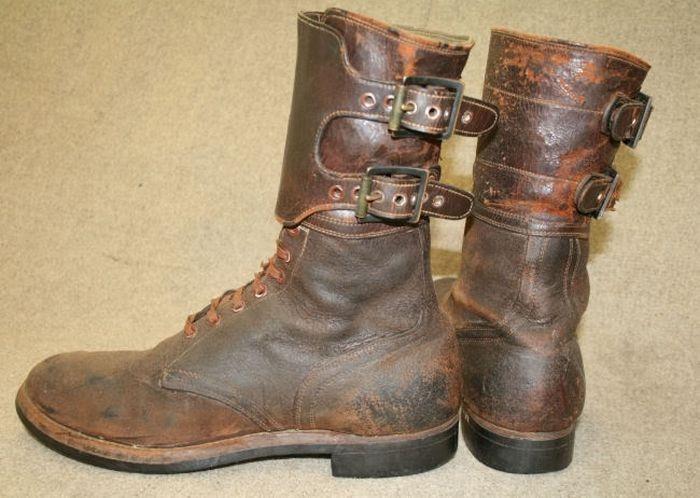 Даже ботинки шли по ленд-лизу.