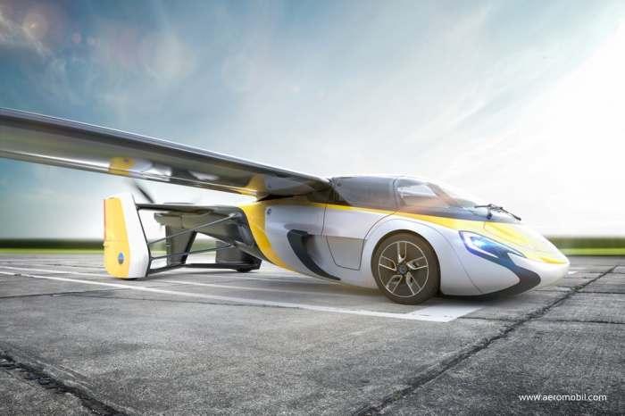 Новый невероятный работающий автомобиль-самолет.