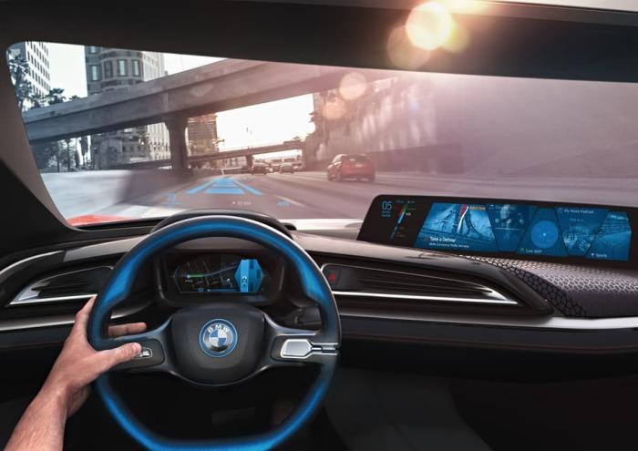 Полностью автономный автомобиль.
