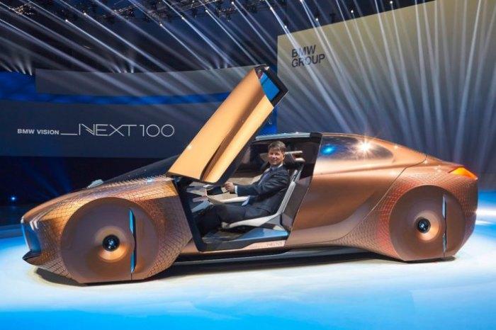 Новый юбилейный концепт BMW.