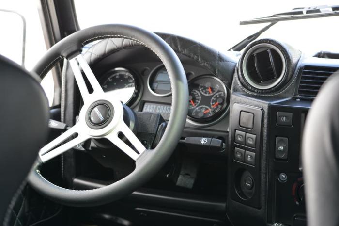 Обновленный водительский интерфейс.