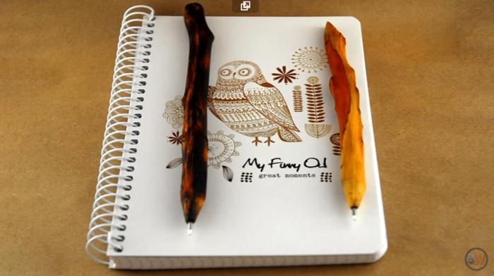 Дизайнерская ручка своими руками.