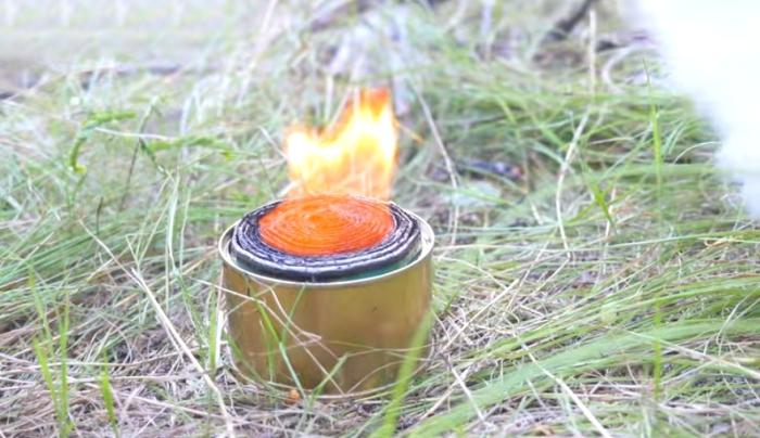 Самодельная портативная горелка.