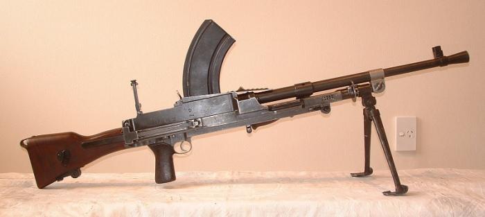 Ручной пулемет англичан.