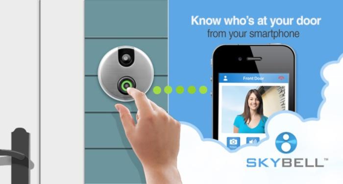 Камера-звонок поможет узнать кто за дверью.