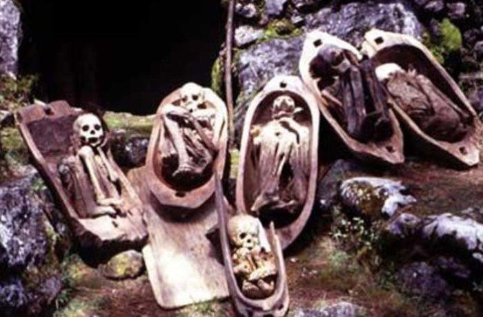 Ужасающие мумии.
