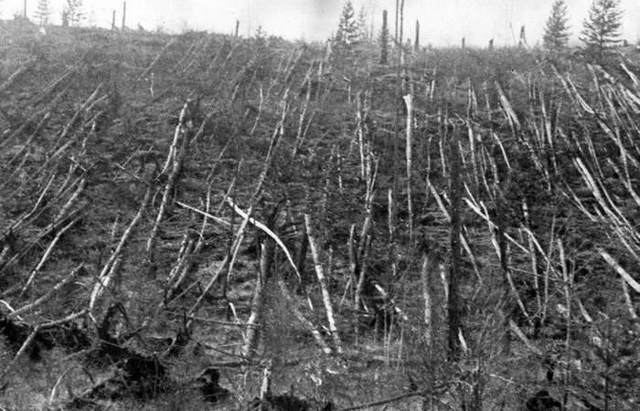 Странная катастрофа: «Тунгусский метеорит».