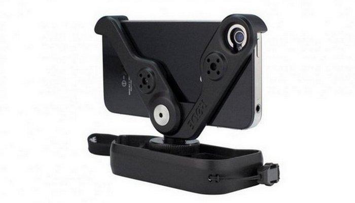 Многоцелевое крепление и держатель «Rodegrip» подходит для iPhone 5/5S.