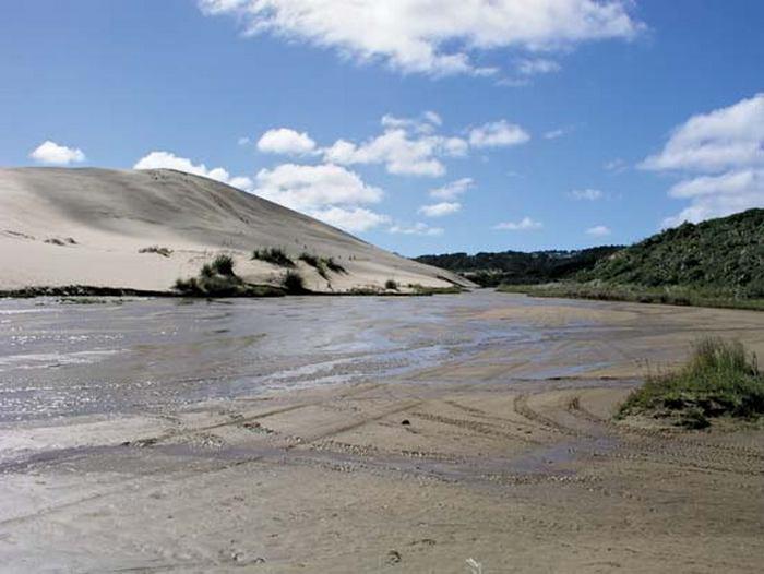 Осторожно! Смотреть под ноги! Плывуны и зыбучие пески.