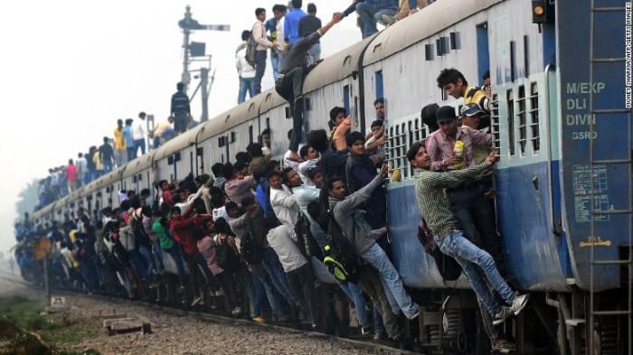 Индийские поезда и другие неприятности туристов.