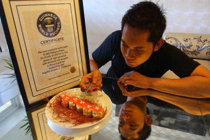 Самые дорогие в мире нигири-суши.