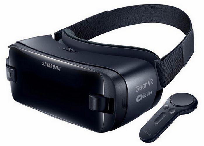 Очки виртуальной реальности Samsung Gear VR.