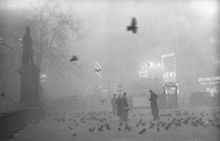 Странная катастрофа: «Великий смог Лондона».
