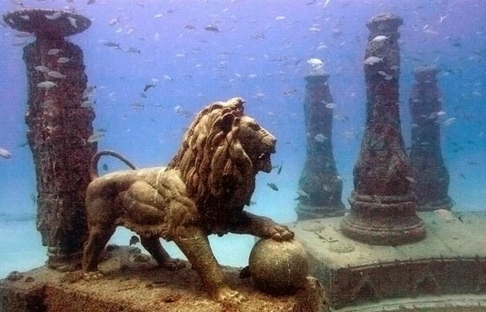 Под водой скрыто множество тайн...