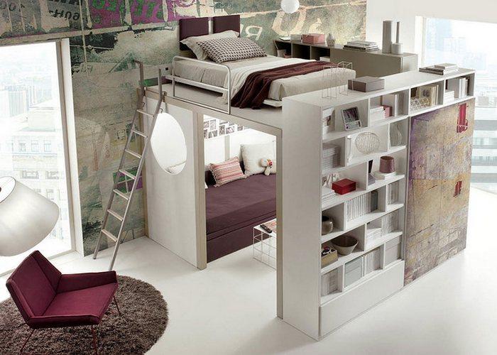 Выбрать универсальную и многофункциональную мебель.