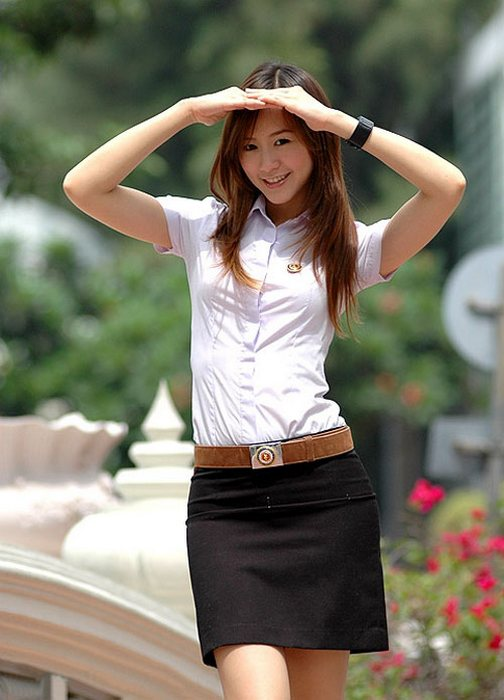 Тайская студентка.