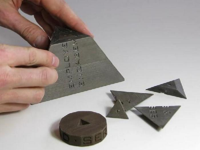 Магнитная пирамида 3D Printed.