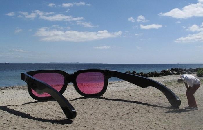Взгляд на мир через «розовые очки».