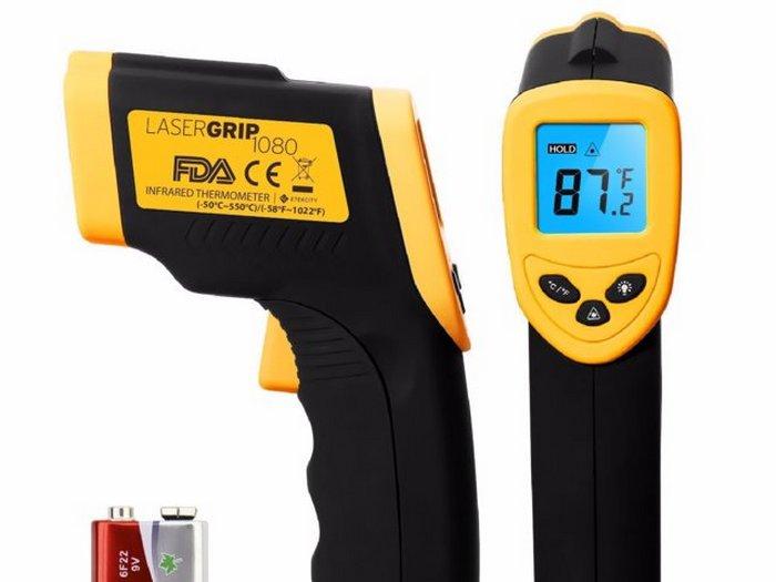 Инфракрасный термометр Etekcity Lasergrip Temperature Gun.