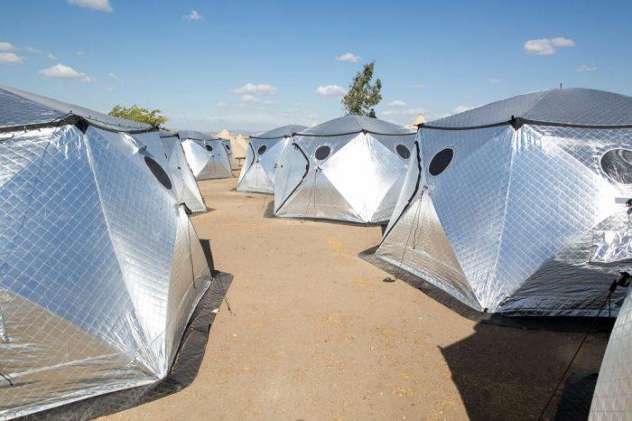Shiftpod - больше, чем палатка.