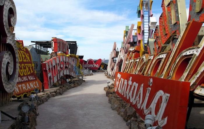 Яскраве і барвисте нагадування про минуле Лас-Вегаса