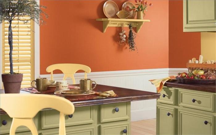 Выбор цветовой палитры для кухни - особая задача.