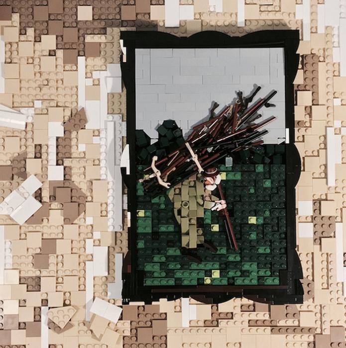 LEGO-версия обложки для диска.