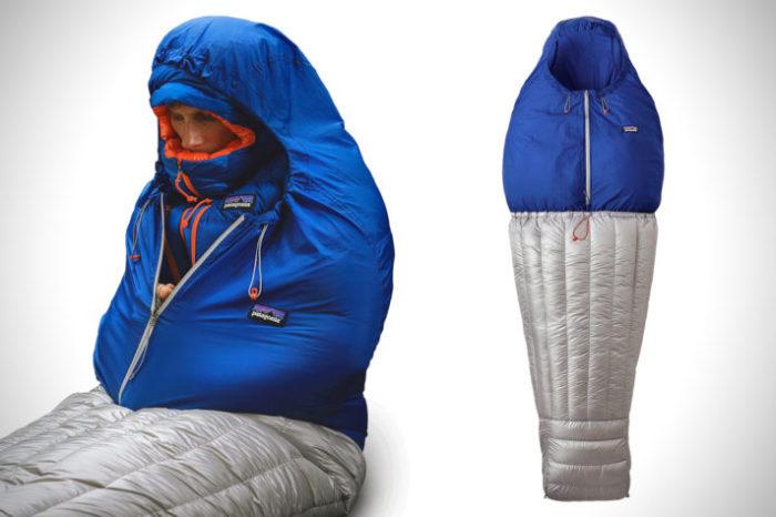 Самый тёплый в мире спальный мешок.