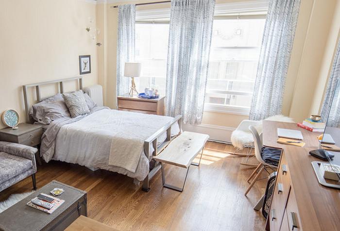Как сделать стильный интерьер в самой маленькой квартире.