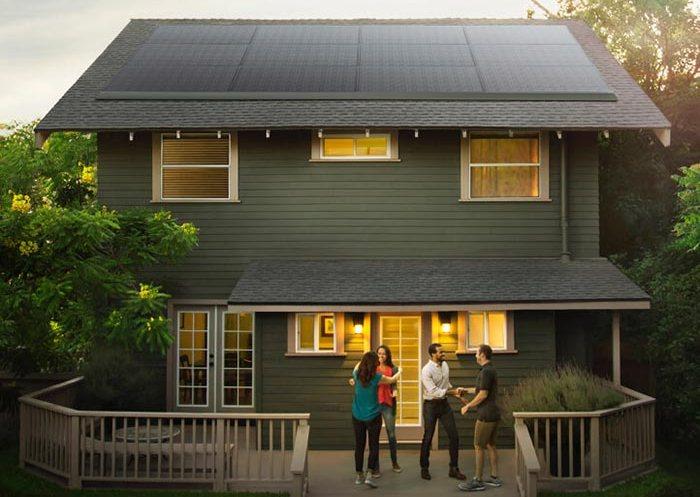 Солнечные панели Tesla для дома, которые заменят все городские коммуникации.
