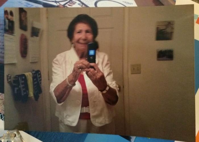 Бабушка и e-mail.