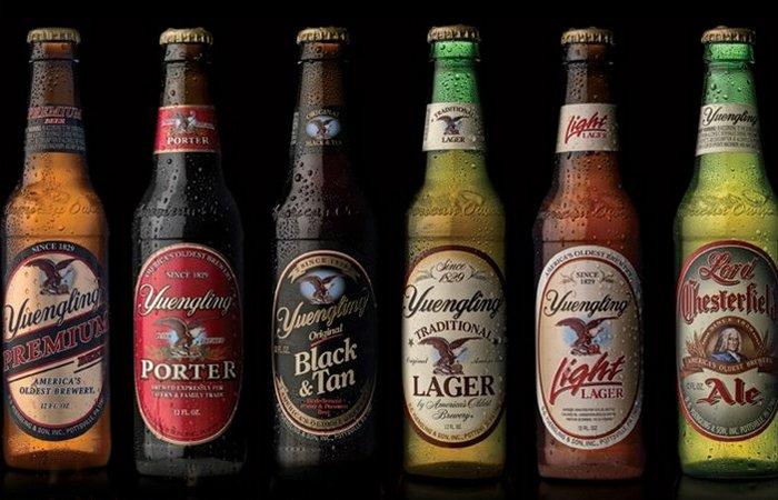 Запрет на алкоголь: пиво Yuengling.
