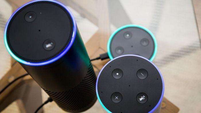 Смарт-динамик Alexa - это будильник.