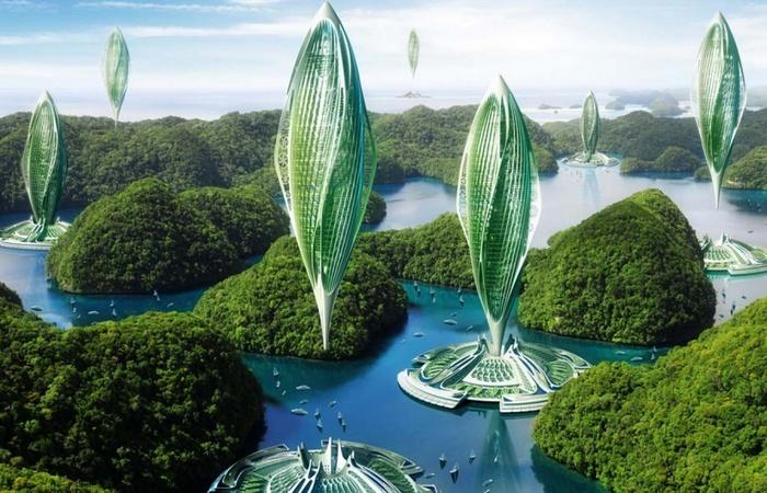 Технологии будущего: экологичный город на водорослях.