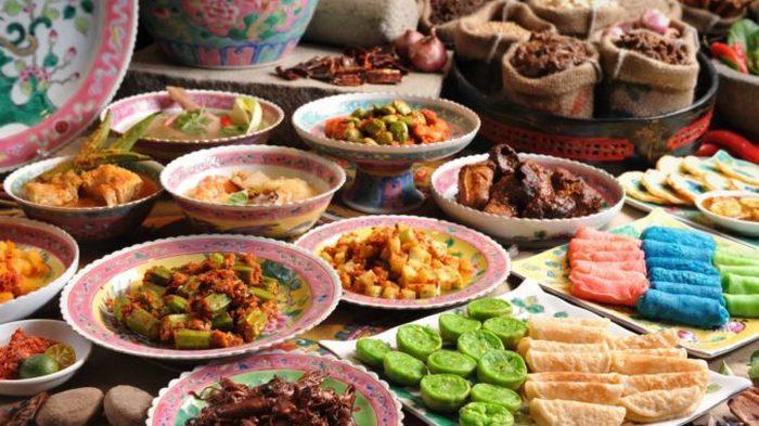 Блюда традиционной тунисской кухни.