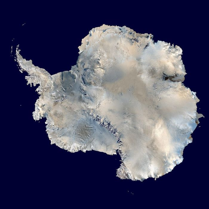 ВНтарктида - лучшее место для прогнозирования землетрясений. Вид со спутника.