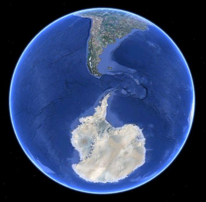 Была ли Антарктида одним континентом с Америкой?