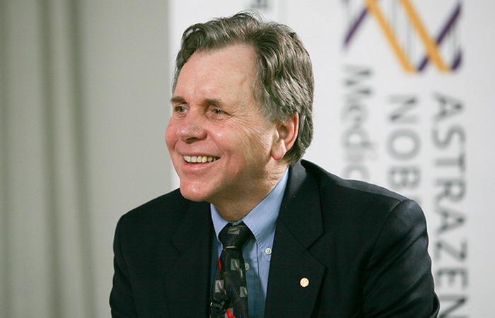 Лауреат Нобелевской премии Барри Маршалл.