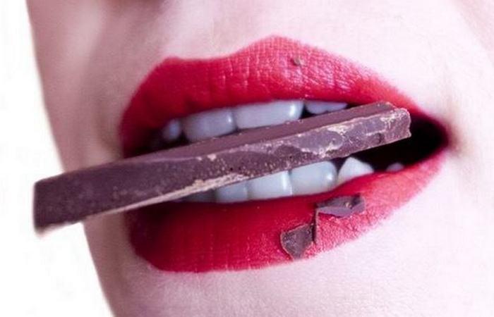 Натуральный афродизиак: шоколад.