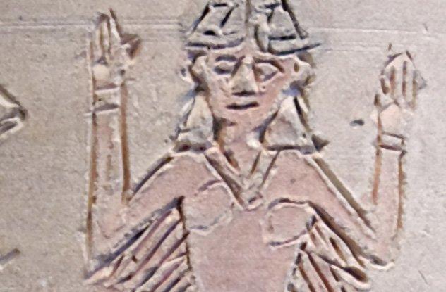 Храм богини любви и войны.