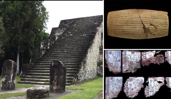 Такие спорные археологические артефакты.
