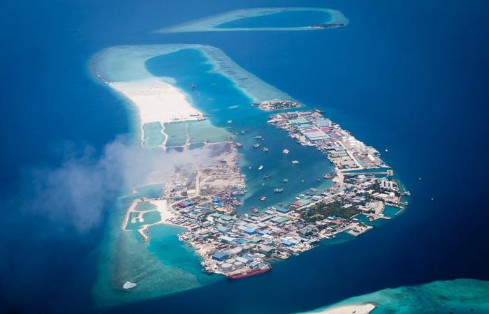 Искусственный остров Тилафуши.