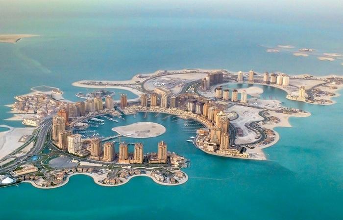 Искусственный остров Перл-Катар.